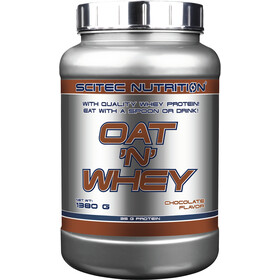 SCITEC Oat and Whey Polvo 1380g, Chocolate